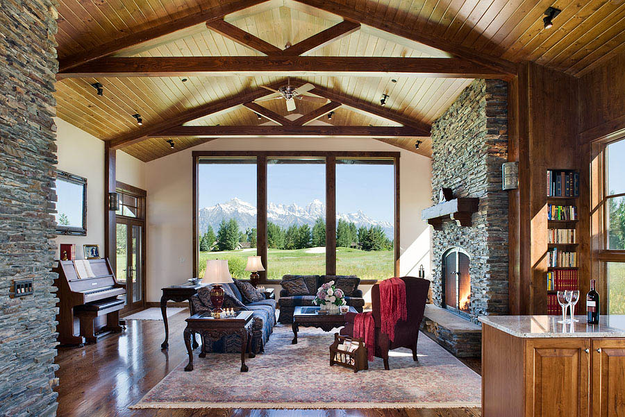 Jackson Hole Golf & Tennis Great Room
