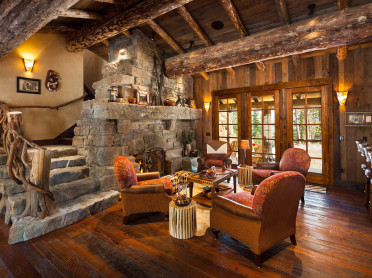 Big Sky log homes